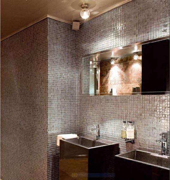 Luxusbad – gestaltet mit edlem Glasmosaik