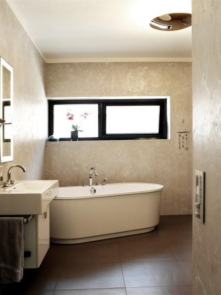 Zauberhafte Badideen – Exklusive Spachteltechnik mit Metallpigmenten angereichert