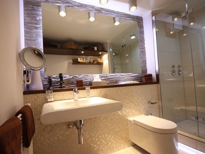 Innenausbauideen, Badkomfort auf kleinstem Raum