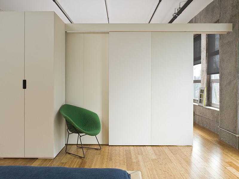 Innenausbau einer Eigentumswohnung mit Maßmöbeln
