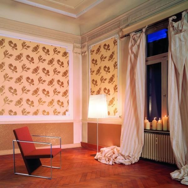 Designtapete im barocken Stil
