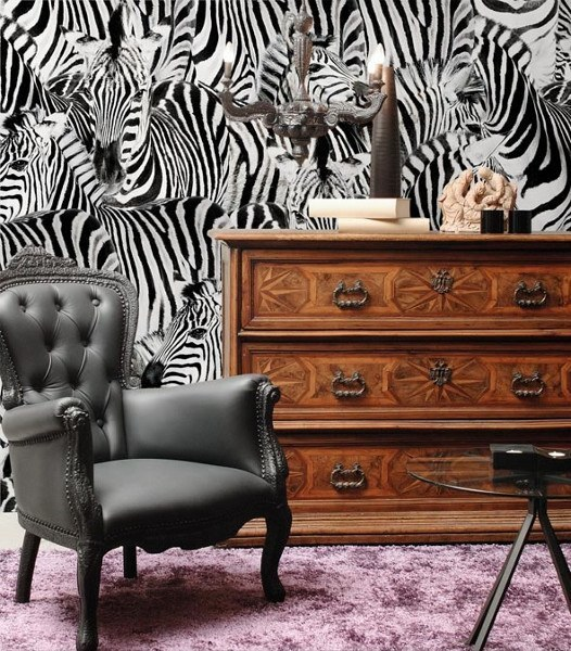 Motivtapeten – Zebra