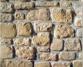 Wandverkleidung Steinoptik - sehr rustikal