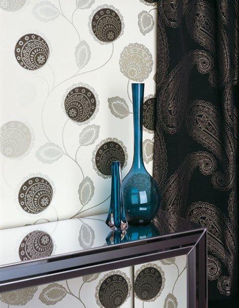 Designtapete – Schönes florales Muster