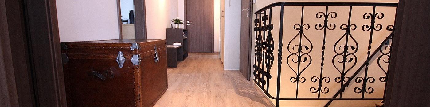 wohnidee hausumbau flur und k che raumax. Black Bedroom Furniture Sets. Home Design Ideas
