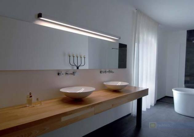 Lichtplanung, Beleuchtung Waschtisch
