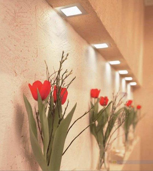 Lichtplanung, Flurbeleuchtung für Dekoration