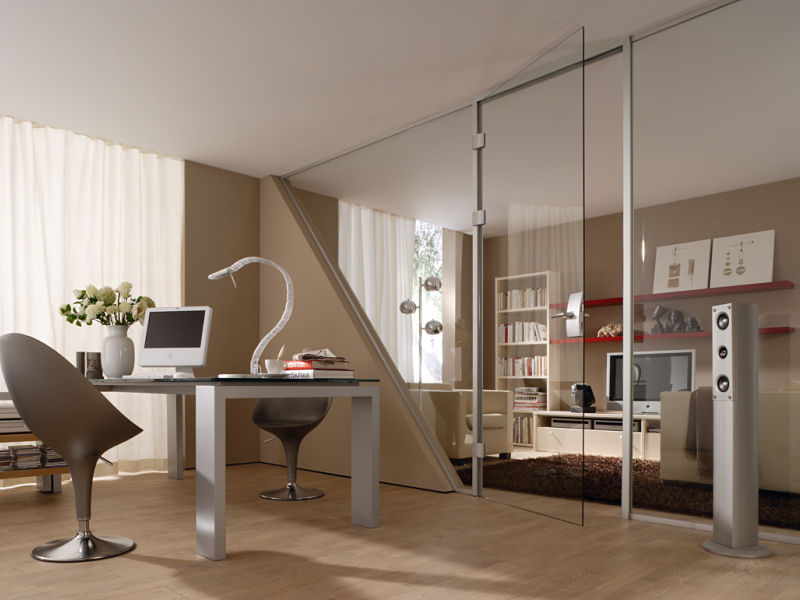 Raumteiler die flexiblen m bel raumax - Trennwand glas wohnzimmer ...