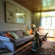 Wohnzimmer einrichten mit Bücherwand