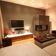 Wohnzimmer gestalten mit Kamin
