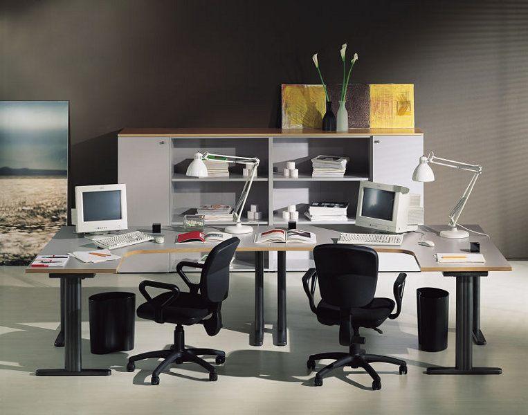 Büroeinrichtung - Optimale Schreibtischgröße für kleinere Räume.