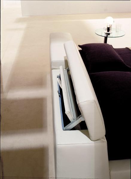 Italienische Betten – Detailfunktion Rückenlehne