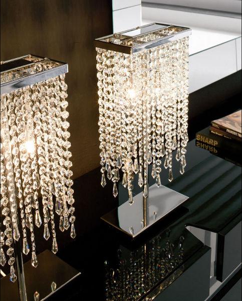 Modern Einrichten mit Leuchten aus echtem Kristallglas