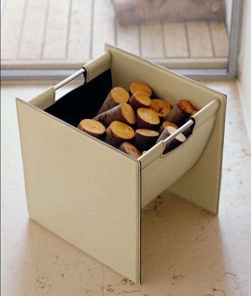 Modern Einrichten mit schicken Kleinmöbeln aus echtem Leder