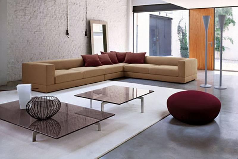 Modern Einrichten, großzügiges Wohnzimmer mit viel Platz