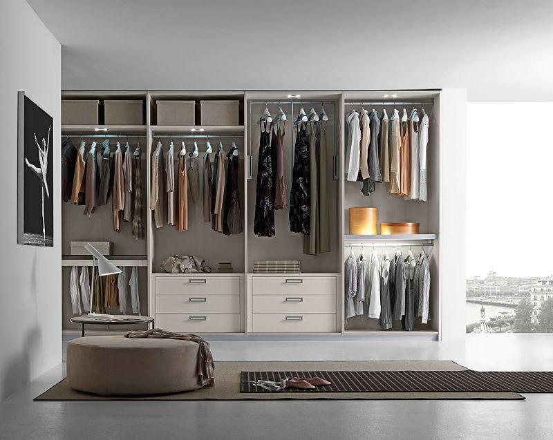 Die perfekte Ankleide in Ihrem modernen Schlafzimmer