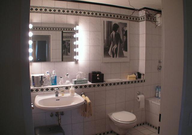 So sah das Badezimmer ursprünglich aus.