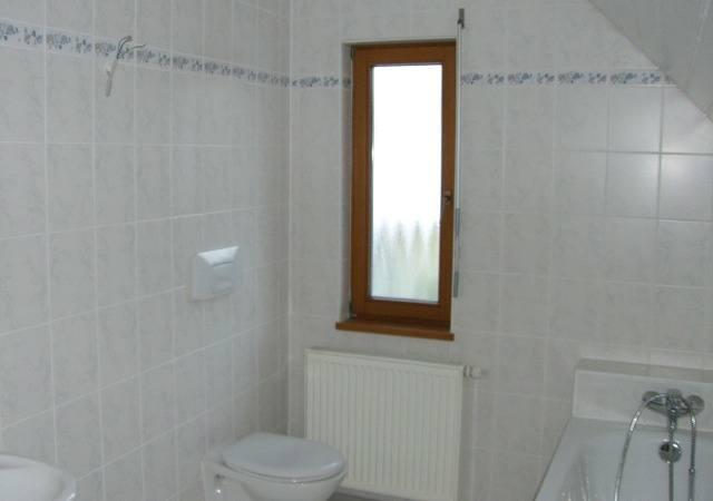 Dachausbau - Das ursprüngliche Bad