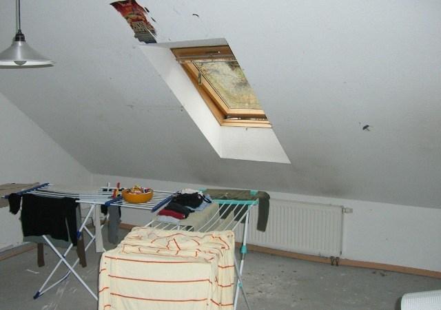 Das vorhandene Dachgeschoss wurde nur noch als Abstellraum genutzt