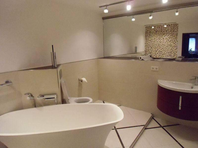 Designbad mit freistehender Badewanne