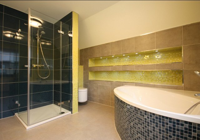 Design bad  Wohnidee für ein Designbad in Limonengrün | RAUMAX