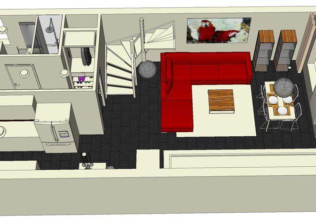Die Planung für die Hauseinrichtung sah die komplette Möblierung aller Räume vor.