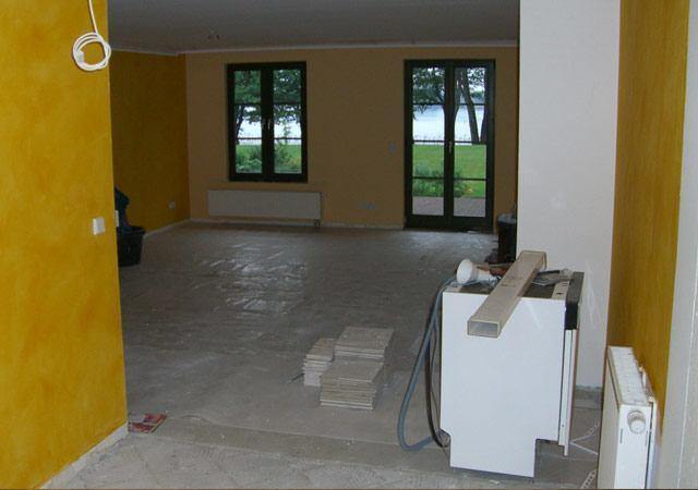 Gelb gestrichene Wände und braune Fenster wollten unsere Kunden nicht mehr sehen
