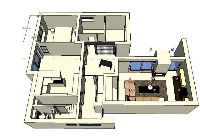 hausumbau ganzheitlich planen und umsetzen raumax. Black Bedroom Furniture Sets. Home Design Ideas
