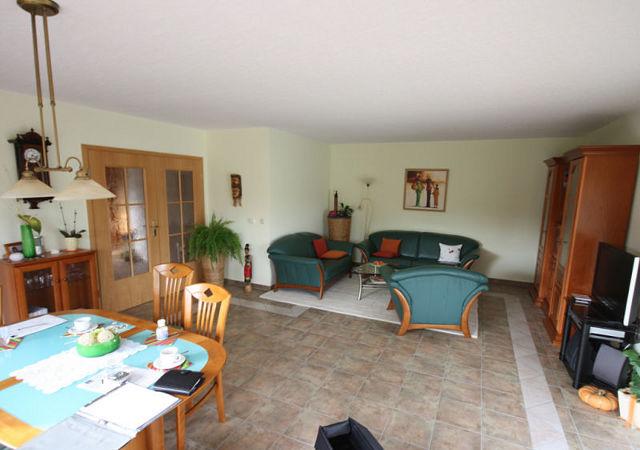 So sah das Wohnzimmer vor der Umgestaltung aus.