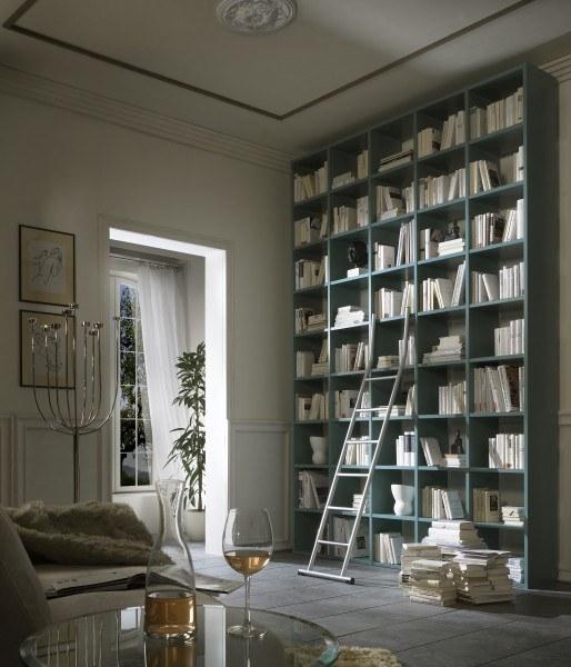 Bibliothekseinrichtung im klassischen Stil für gemütliche Leseabende
