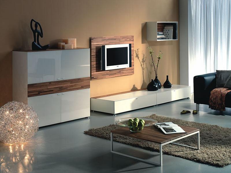 ... Haus Einrichten: Ein Modernes Wohnzimmer Mit Locker Gestalteter Wohnwand