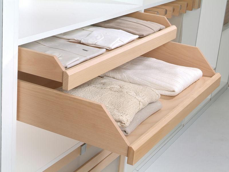 Stauraum schaffen-mit ausziehbaren Schubkästen aus Holz