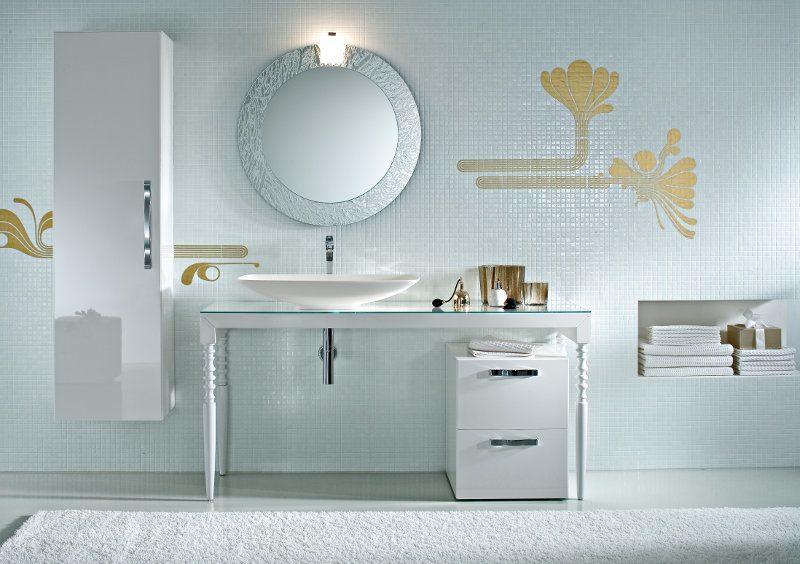 Badkultur heute - viel Platz zum Waschen und Entspannen