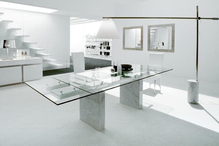 Einrichten in Weiß – Hier wurde eine ganze Etage in Weiß gestaltet.