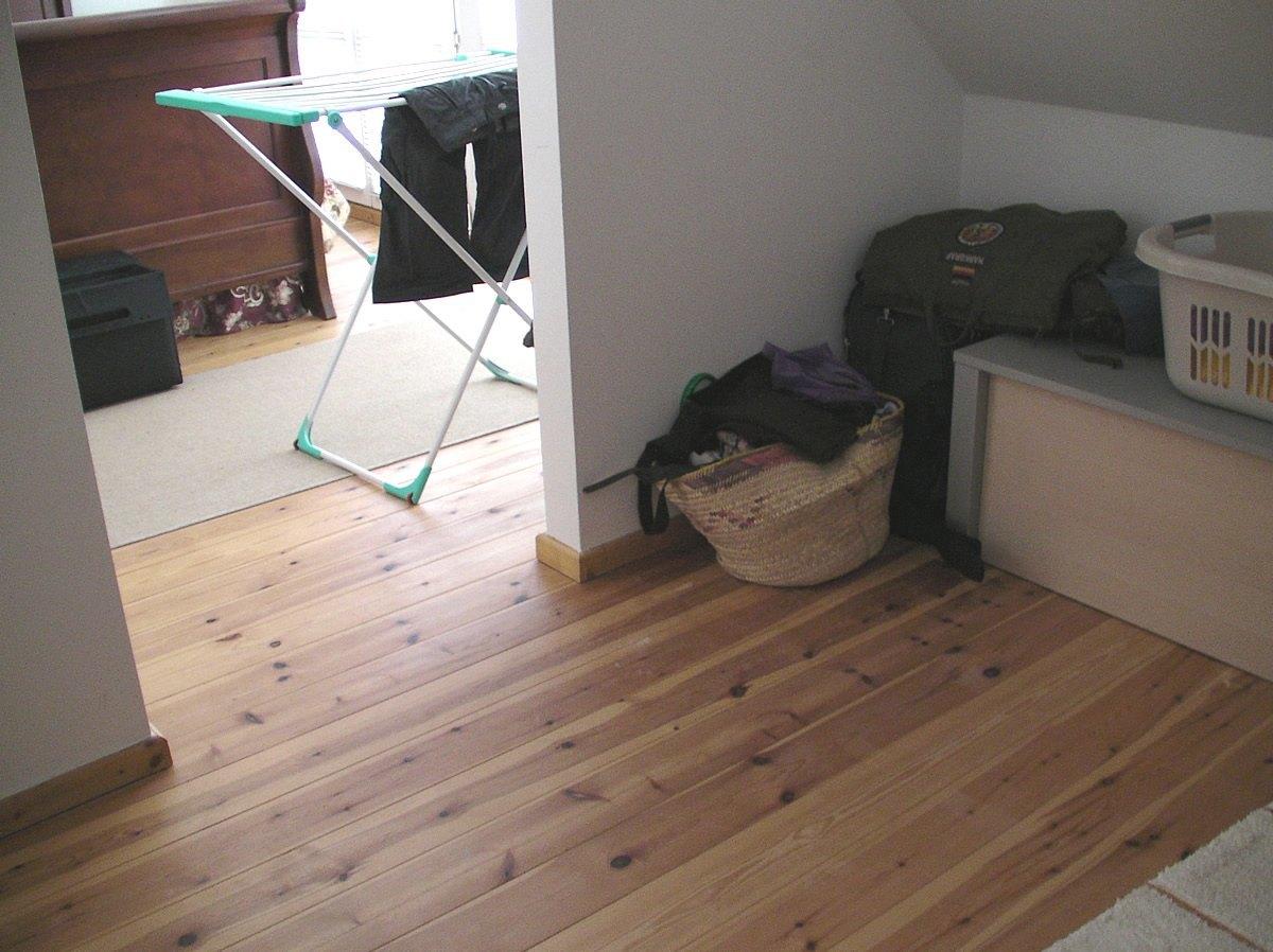 Dieser angrenzende Raum wurde als Abstellraum genutzt. Somit gingen kostbare Quadratmeter ungenutzt verloren.